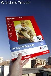 Carta Fotografica per stampanti