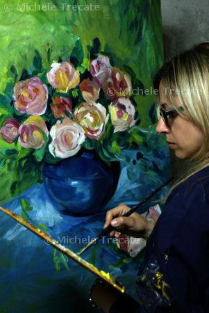 aspirante pittrice