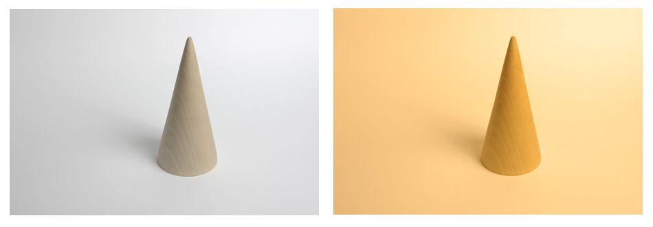 due fotografie identiche con diverso bilanciamento del bianco - foto by Michele Trecate