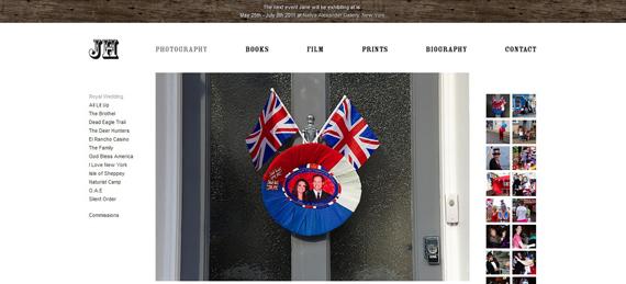 Il sito di Jane Hilton