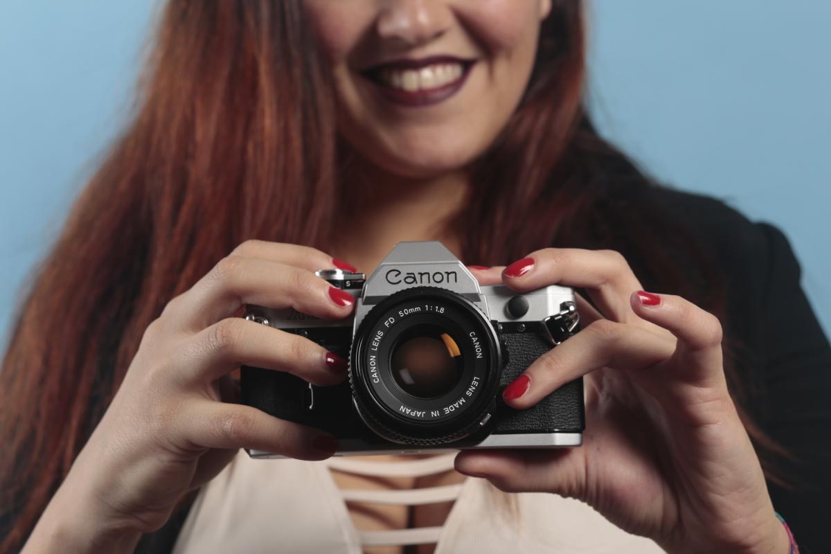 Canon AE-1, Anastasia. Make Up: Valentina Gobbato