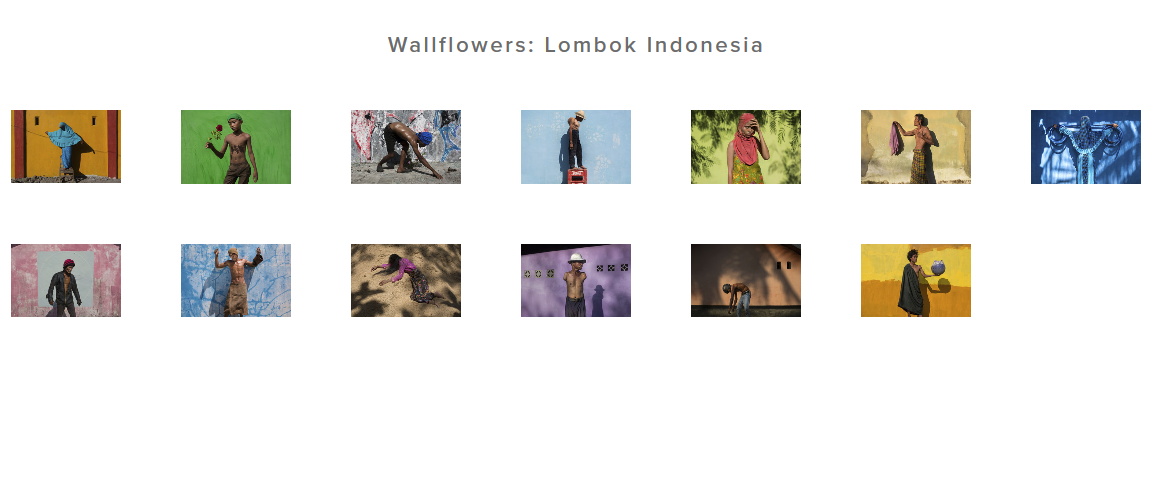 Wallflowers: Lombok Indonesia - Jonah Meyers
