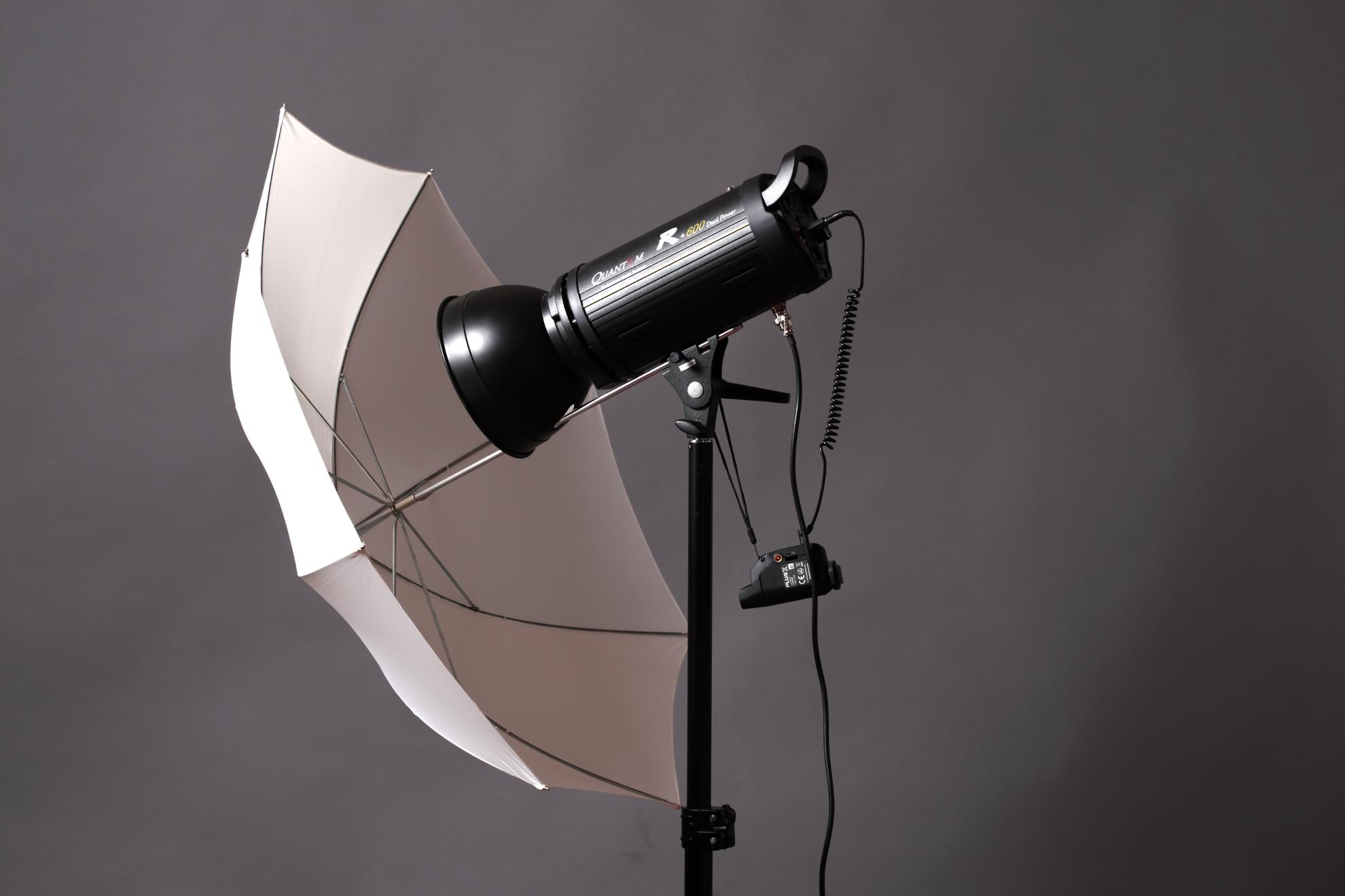 flash quantuum con ombrello
