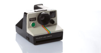 Polaroid Land Camera 1000 tasto verde