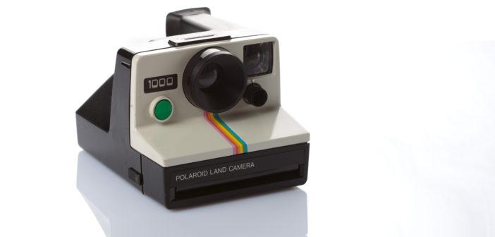 Polaroid Land Camera 1000 tasto verde