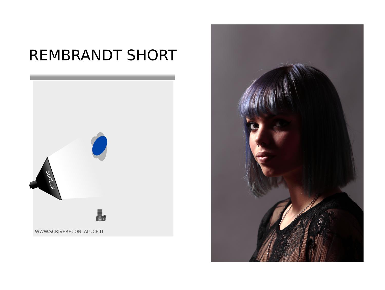 Schema luce: Rembrandt Short